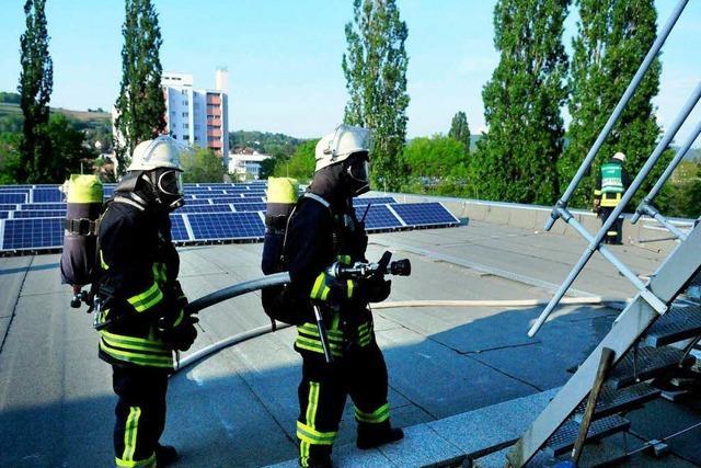Solardächer: Ein Risiko für die Feuerwehr