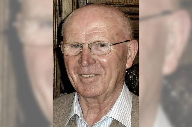 Eugen Hiss wurde 80 Jahre