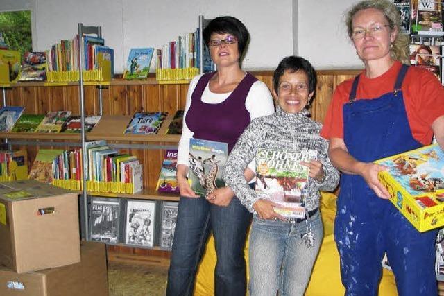 Neues Heim für Bücher und Besucher