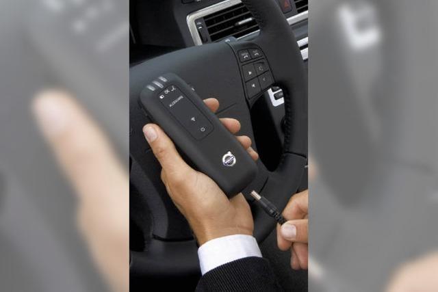 Das Auto, das den Fahrer checkt