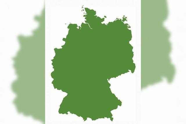 Wandtattoo: Häng' dir Deutschland an die Wand