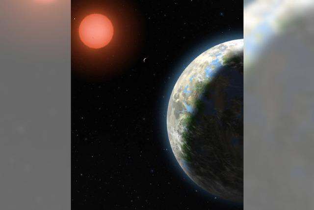 Forscher finden bewohnbaren Planeten