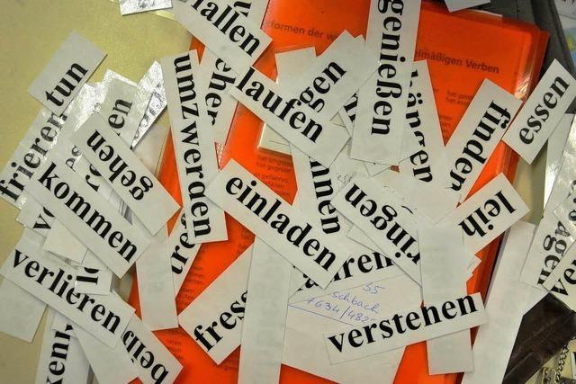 Kampagne für die deutsche Sprache