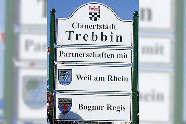 Trebbin feiert die Vereinigung mit Stadtfest