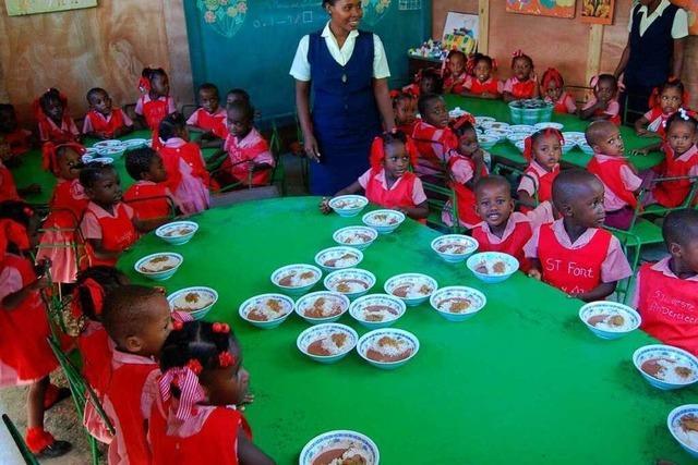 Haiti: Mit Spenden von