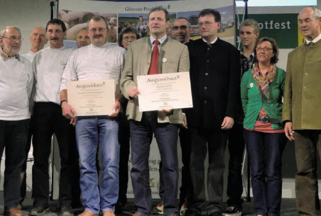 """Die Gersbacher Fleischdirektvermarktun...r """"Gläsernen Produktion"""".     Foto: Privat"""