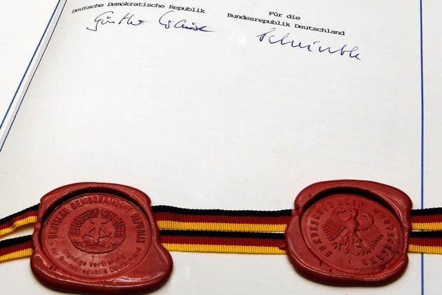 20 Jahre Deutsche Einheit: Zwei plus wir