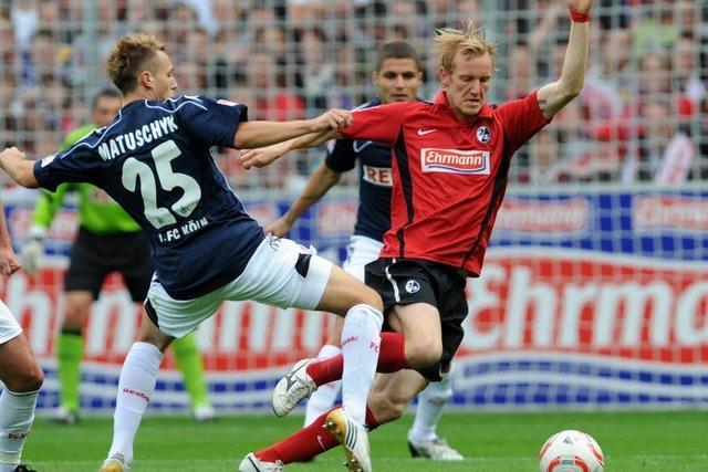 Die Traumstarter: SC Freiburg besiegt 1. FC Köln mit 3:2
