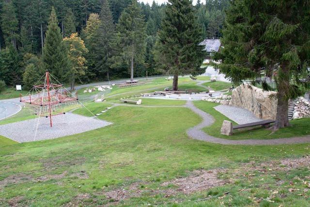 Spielplatz wurde eingeweiht