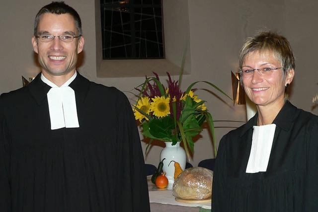 Neuer Pfarrer mit Hoffnung im Säsack