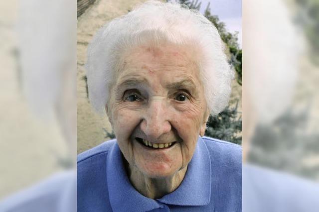 Emma Söhnlin wird heute 100 Jahre alt