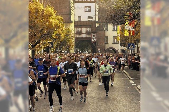Stelldichein der Läufer
