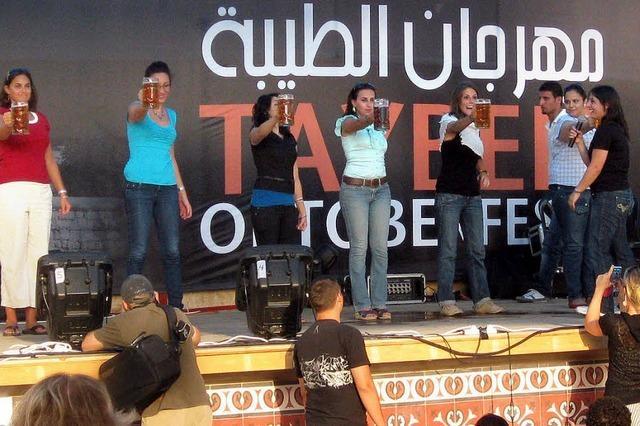 Palästinenser feiern ihr eigenes Oktoberfest