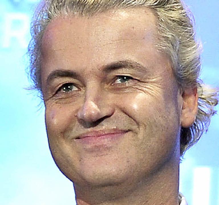 Geert Wilders in Berlin   | Foto: DPA