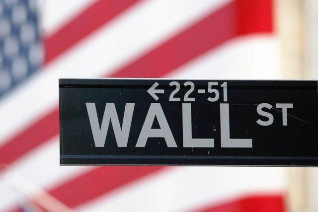 Wall Street: Börsenpanik ohne Grund