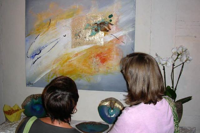 Das Unbewusste führt beim Malen den Pinsel