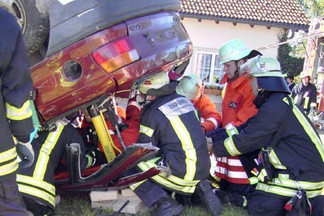 Feuerwehren arbeiten gut verzahnt