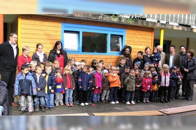 Werkeln im Kindergarten