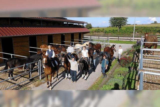 Eine Idylle für Pferdefreundinnen