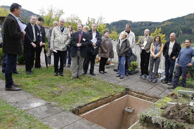 In Seelbach wird modern beerdigt