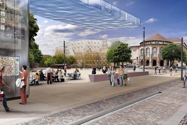 Neue Rotteckring-Pläne: Mehr Bäume und mehr Sitze
