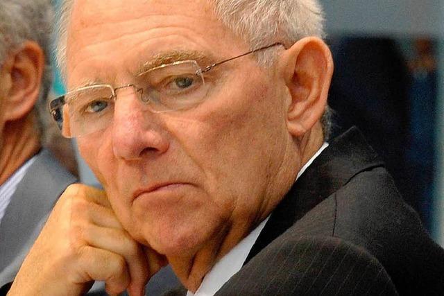 Schäuble kämpft gegen Krankheit und Gerüchte