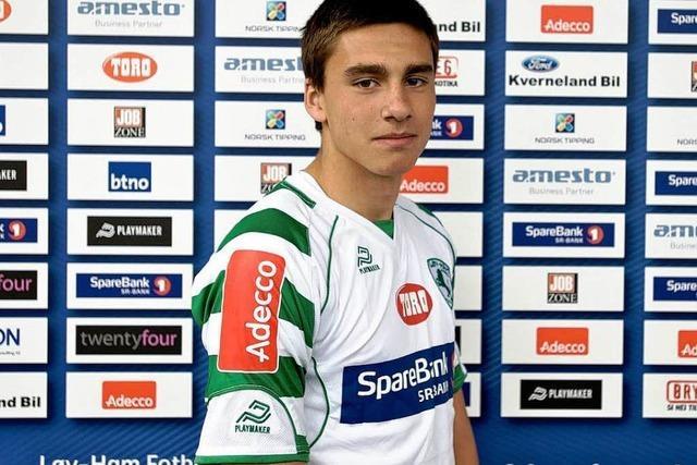 Kevin Dure spielt beim SC Freiburg vor