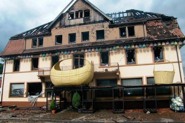 Technischer Defekt führte zum Großbrand in Hausach