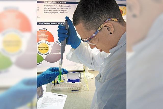 Mobile Biotechnologie zum Anfassen