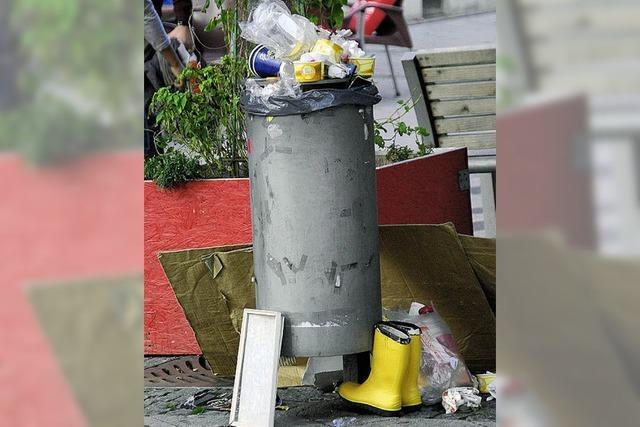 Müll – nicht nur eine Aufgabe der Stadt