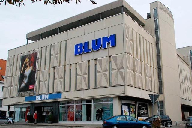 Kaufhaus Blum vor dem Verkauf – Antrag auf Massenentlassung