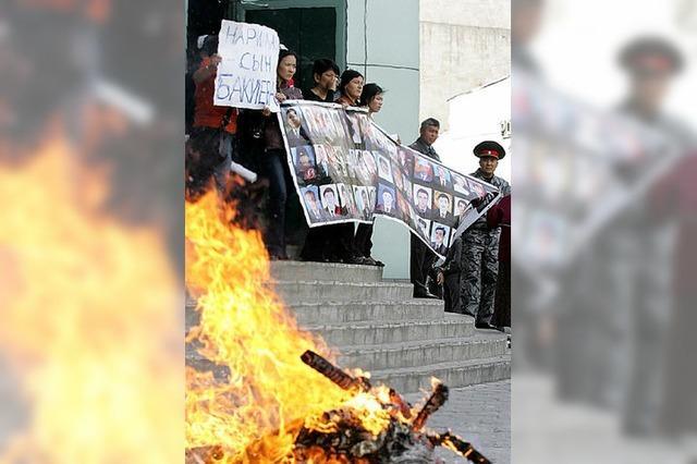Die Stimmung in Kirgistan ist immer noch nervös und aufgeregt