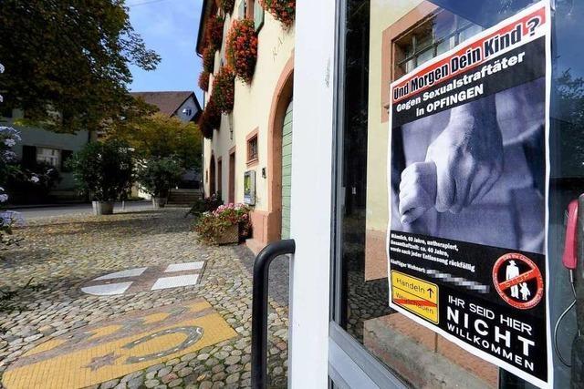 Opfinger Bürger besorgt wegen Sexualstraftäter