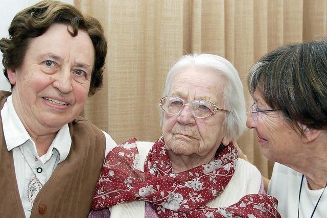 Lahrs älteste Bürgerin wird morgen 108 Jahre alt