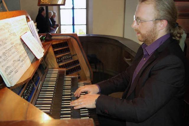 Freude über neuen Kirchenmusiker
