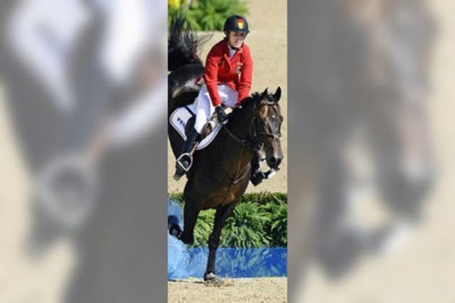 Auf den Pferden der Konkurrenz