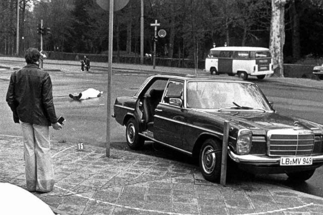 Tatfahrzeug des Buback-Mordes aufgetaucht