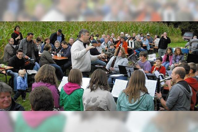 Musikverein auf Wanderschaft