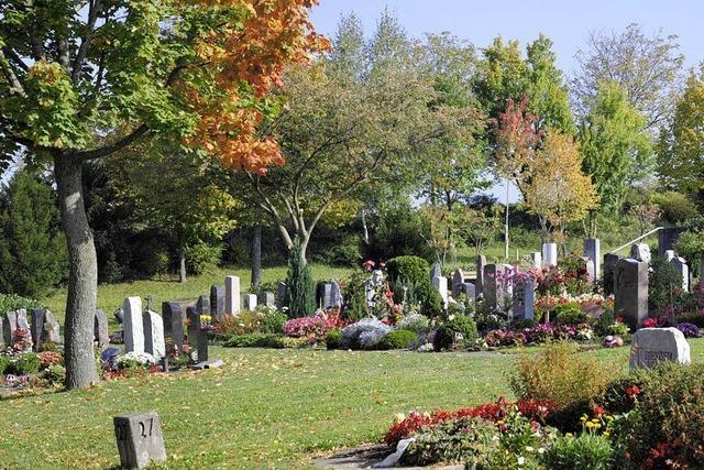 Grabfeld für muslimische Mitbürger