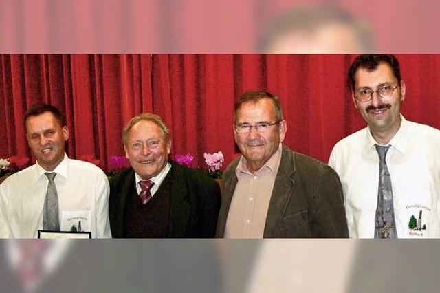 Notenwart Martin Ühlin ist jetzt Ehrenmitglied