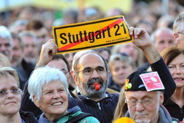 Stuttgart 21: Grube lehnt Bau- und Vergabestopp ab