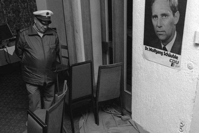Schäuble-Attentat vor 20 Jahren: Der Tag, der alles veränderte