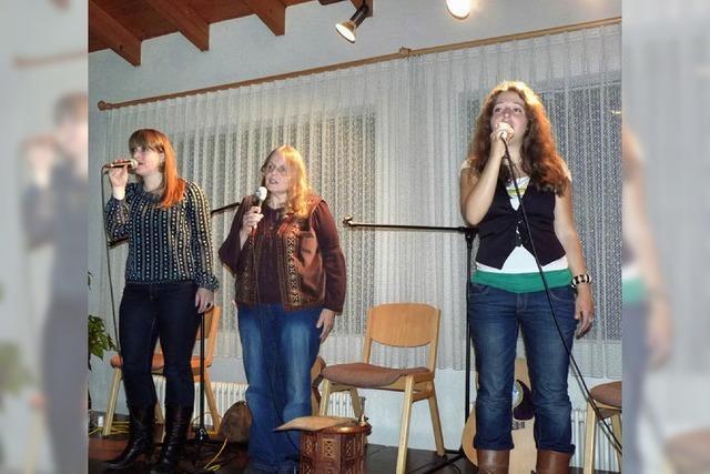 Drei Frauen, ein Konzert