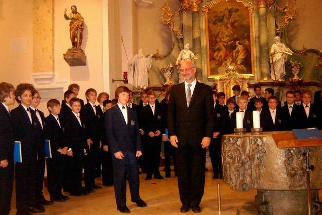 Regensburger Domspatzen jubilieren in Bad Krozingen