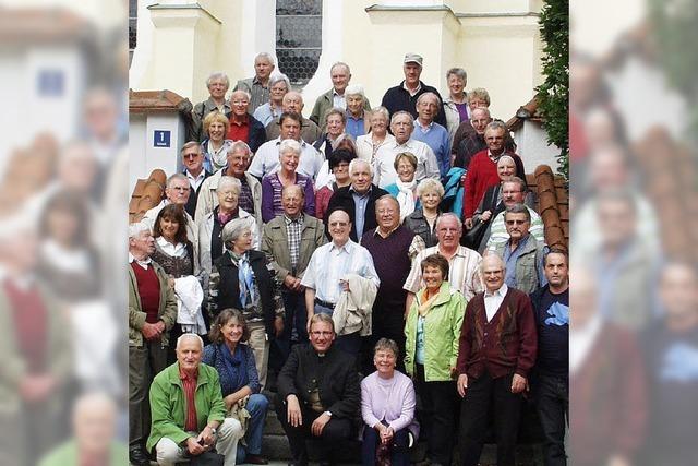 Lindenberggebetsgruppe auf den Spuren des Papstes