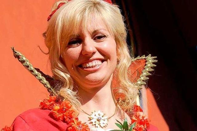 Natalie I. ist die neue Chrysanthemenkönigin von Lahr