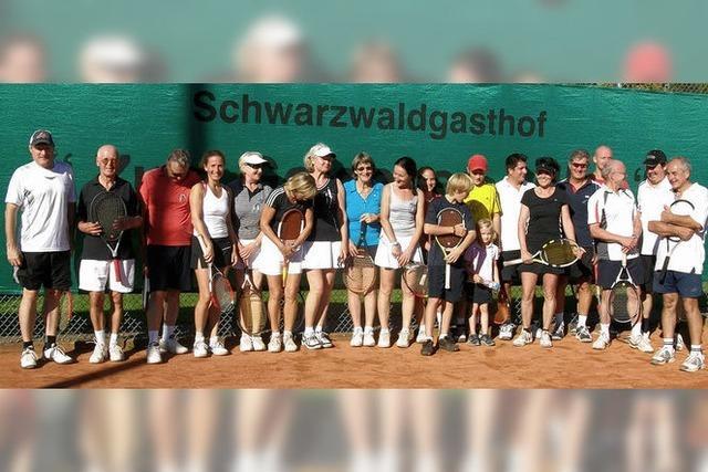 Saisonabschluss beim Tennisclub