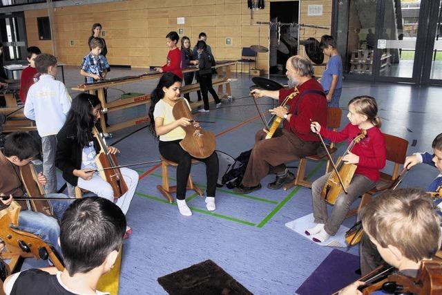 Wenn Kinder eine Geschichte musikalisch erzählen . . .
