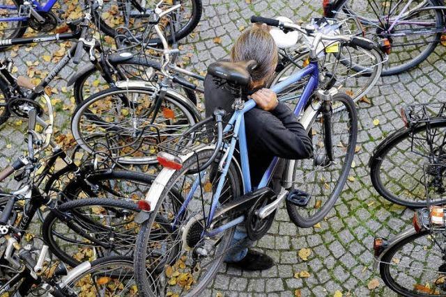 Eine Hochburg für den Fahrradklau