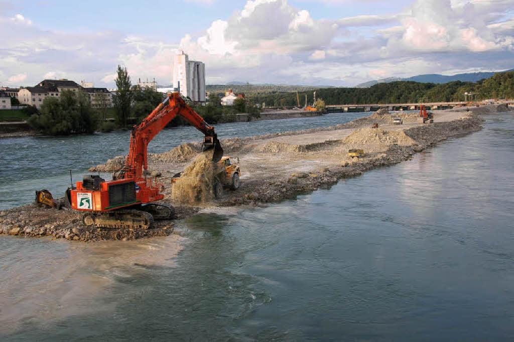 Rheinpegel Steigt